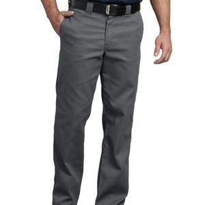 DICKIES 874 Original Fit Gray Pants Men's 33 x 34